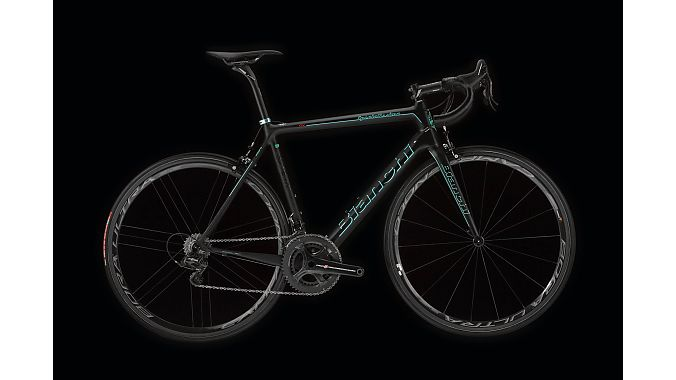 The Specialissima in matte black with Celeste Fluo accents.