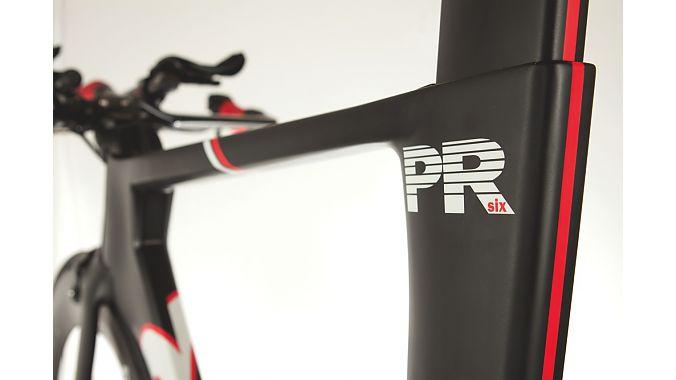 "The PR6 has ""Boat tail"" aerodynamics."