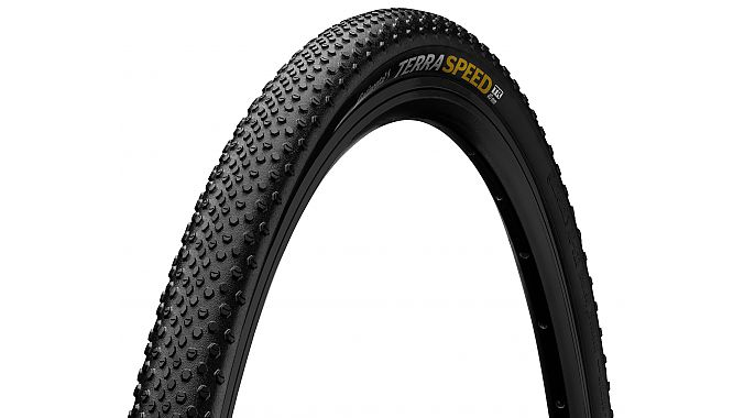 The Continental Terra Speed gravel tire.