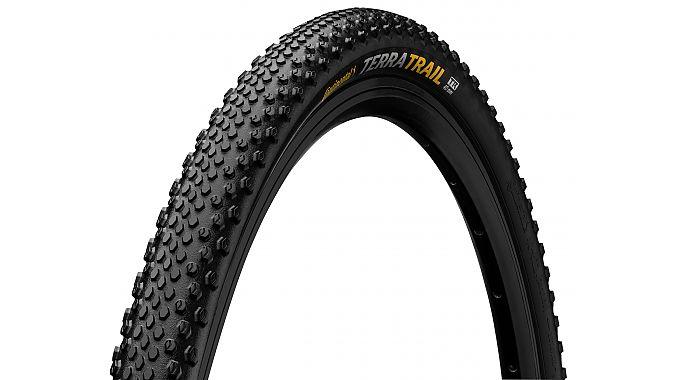 The Continental Terra Trail gravel tire.