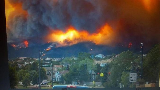 Fires in Fort Collins and Colorado Springs, Colorado, threatened retailers and suppliers.