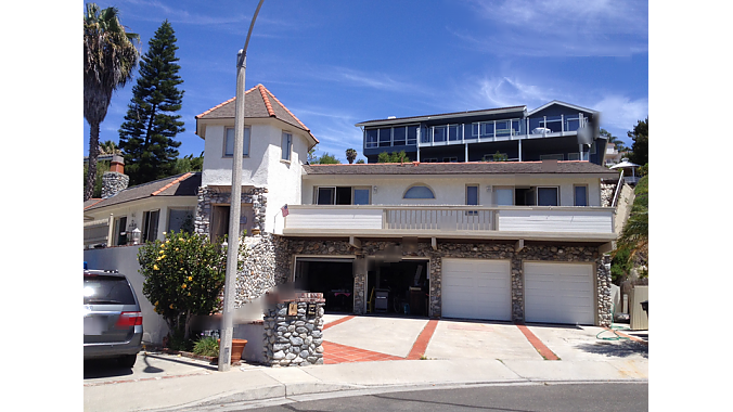 The house in San Clemente. A woman who answered the door there told BRAIN she knew nothing about the bikes.