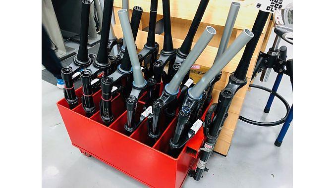 Some forks after batch testing.