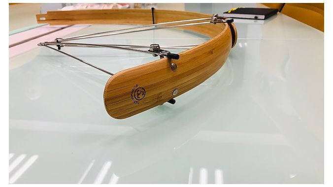 Fenders made of bamboo are one of several Sunnywheel options.