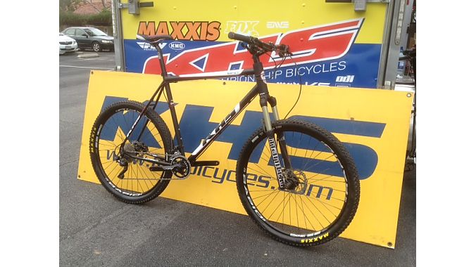Designed by Lennard Zinn, KHS's new BNT 29er fits riders 6-foot-4 and taller with XXL and XXXL sizes.