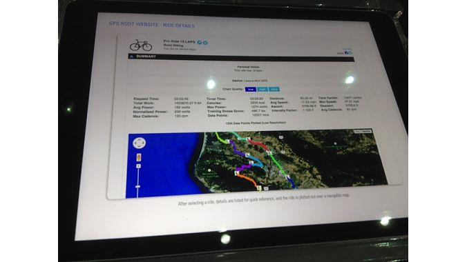 GPS Root uses Google Maps.