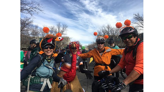 Cranksgiving puts cyclists in the giving mood for the holidays.