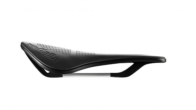 A prototype saddle made with the new process.