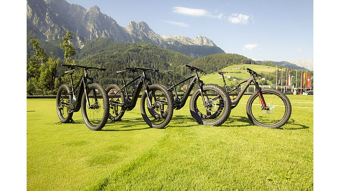 The Turbo Levo range was shown to media at a launch in Leogang, Austria, just prior to the European dealer event in the same location.