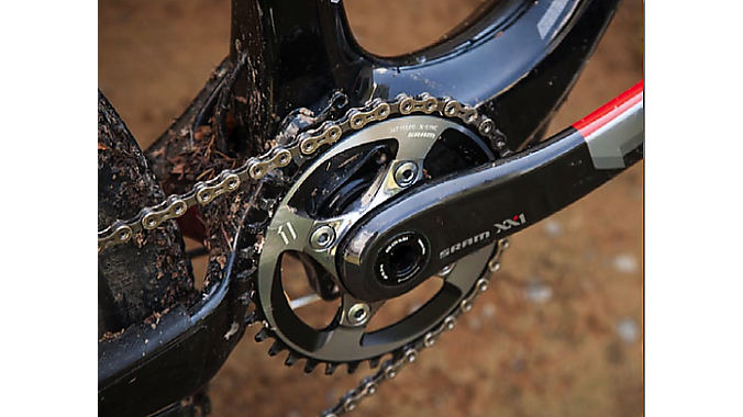 SRAM went to 11 cogs, too - offroad