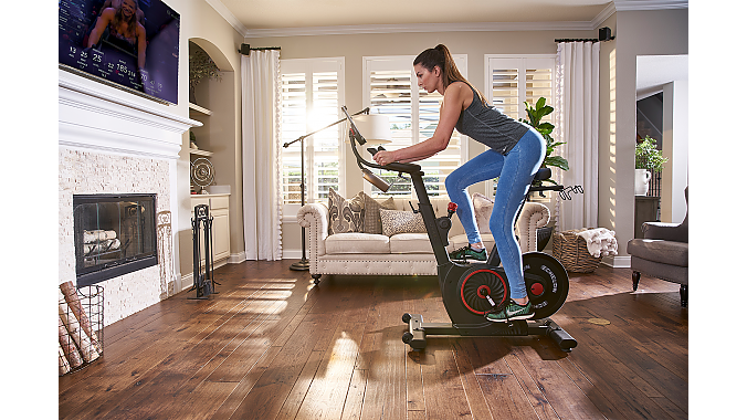 The EX-5 Smart Connect Bike is for those who prefer the fitness experience on a tablet or phone.