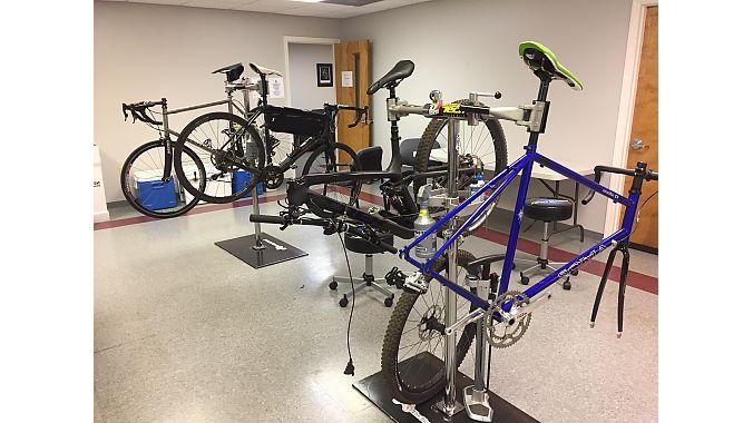 The Bicycle School's workshop.