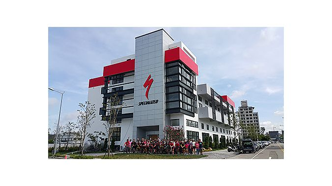 Specialized's new Taichung building.