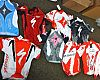 Some alleged counterfeit Specialized clothing purchased from the sites. Source: HIS