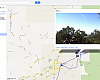 After a ride, you can share a link to an interactive Google map. Users can click on the map to see images taken there.