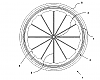 A drawing from the Katsanis patent that has been assigned to SRAM.