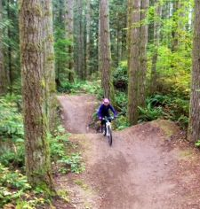 The BRAIN staff hit the Duthie Hill MTB park in Seattle on Monday.