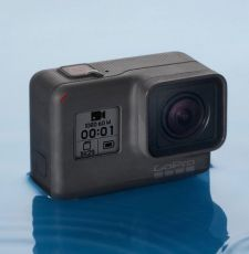 GoPro launched the $199 entry-level Hero camera at the end of the first quarter.