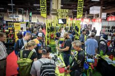 A scene from the 2017 Interbike show.