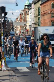 Cyclists in Copenhagen. Photo courtesy European Cyclists' Federation