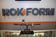 A POP shows bar-mount options for Rokform's phone cases.