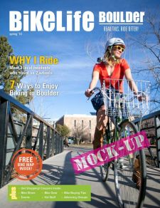 A mockup of the Boulder BikeLife cover