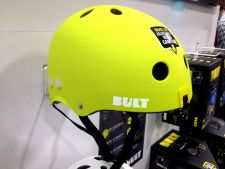 Bult action-cam helmet at Interbike 2013