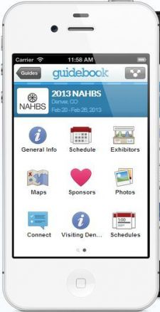 The NAHBS mobile app