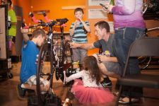 Endurance House Westminster's grand opening attracted cycling fans of all ages.