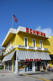 The sign is a landmark, but Mack's doesn't sell Schwinns.