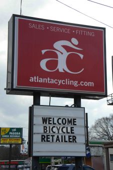 Atlanta Cycling knows how to make guests feel at home.