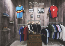 A De Marchi store within a store.
