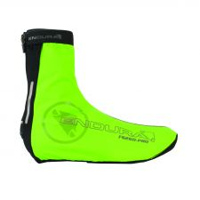 The Slick Overshoe in hiviz green.