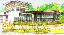 Rendering of Epic Cycles' new 10,000-square-foot location