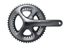 The new Ultegra crank borrows features from Dura-Ace
