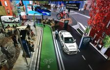 Trek participated in Ford's display at the 2018 CES show.