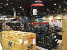 The news came as Interbike's indoor expo prepared to open.