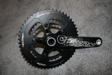 Turn's hollow carbon crank