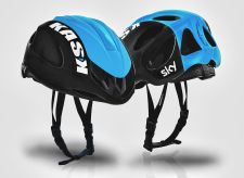 The Kask Infinity with vents open