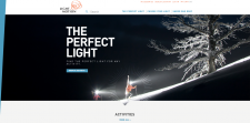 Light & Motion's new homepage.