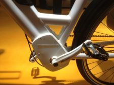 Continental's compact e-bike motor integrates into the frame around the bottom bracket.