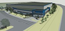 A drawing of Park' Tool's new building