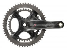 The new four-arm Record crankset.
