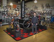 RockNRoad partner Jeff Renteria at the retailer's Laguna Niguel store