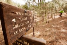 Santa Fe, N.M., is a silver-level IMBA Ride Center.