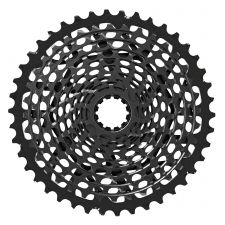 The X01 cassette has a black finish.