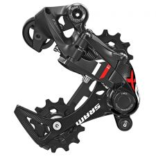 The 7-speed XO1 DH rear derailleur comes in medium and long cages.