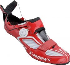 The Specialized Trivent shoe with Boa lacing
