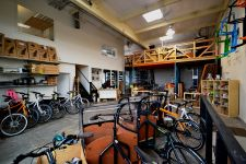 Spendid Cycles' Portland store.