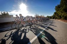Team Giant-Shimano at a training camp earlier this month.